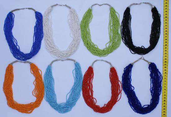 Изделия из бисера: сережки, ожерелья - Бижутерия и сувениры оптом и в...